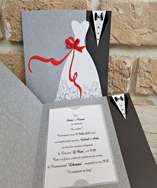 5 motive pentru care sa comanzi invitatii de nunta online